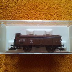 Fleischmann 5200 01 - Vagon cu capac si cabina de franare ( nou ) - Macheta Feroviara, 1:87, HO, Vagoane