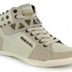 DIESEL pantofi sport dama - sneakers - ORIGINALI - PE STOC - VANZATOR PREMIUM ! - Tenisi dama Diesel, Marime: 40, Culoare: Bej