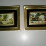 2 piese ptr decor de perete cu rama frumoasa . reducere