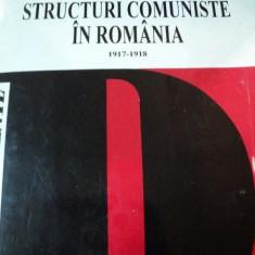 Istorie - IDEOLOGIE SI STRUCTURI COMUNISTE IN ROMANIA 1917-1918, BUC. 1995