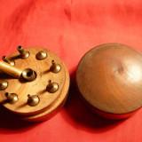 Cutie de lemn cu Mandrine pt.strung f.mic , sf. sec. XIX