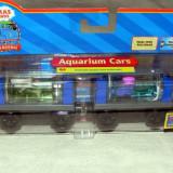 Thomas&Friends - Wooden Railway - AQUARIUM CARS din lemn cu magnet - ( transport 3 RON la plata in avans ) - DE COLECTIE