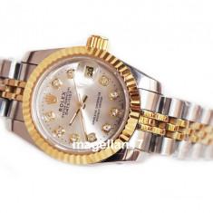 Ceas de Dama Rolex, Lux - elegant, Analog, Inox - Rolex DateJust Automatic For Ladies ! ! ! Cea Mai Buna Calitate ! Cutie Cadou ! ! ! ***