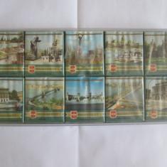 Pachet tigari - RARISIM! SET 10 PACHETE TIGARI COLECTIE BUDAPESTA EDITIE LIMITATA ANII 70