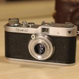 Aparat Foto Rangefinder Meopta, Opema II cu obiectiv 45 mm/2.8 Belar Leica Mount