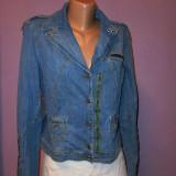 Geaca jeans Dolce Gabbana 100% originala - Geaca dama Dolce & Gabbana, Marime: S/M, Culoare: Din imagine, Bumbac