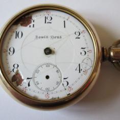 RARITATE! CEAS AMERICAN BUZUNAR SOUTH BEND PLACAT AUR 14 K DIN 1906 - Ceas de buzunar