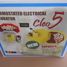 Incubator electric cu termostat - cleo 5 - nou