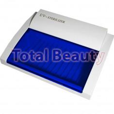 Sterilizator UV profesional cu trapa pentru ustensile de coafor si manichiura