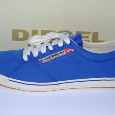 Diesel original model Praiser culoare bleu - Tenisi barbati Diesel, Marime: 41, 42