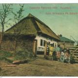 2736 - House from BUCOVINA - old postcard - used - 1908 - Carte Postala Bucovina 1904-1918