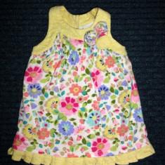 Tunica tip rochita cu flori, marca NEXT, fetite 18-24 luni, Culoare: Multicolor