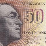 Bancnota Straine, Europa - FINLANDA 50 markkaa 1986 XF+!!!