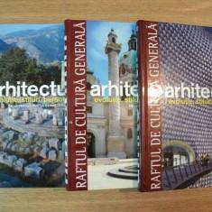 ARHITECTURA EVOLUTIE, STILURI, PERSONALITATI VOL. I - III - Carte Arhitectura