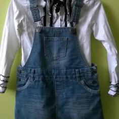 Vand camasa + fusta blugi 2-4 ani, Fete