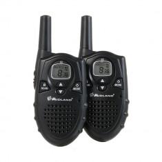 Resigilat - Statie radio PMR Midland G5, set 2 bucati, Cod C735.06