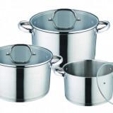 Set de vase pentru gatit din inox