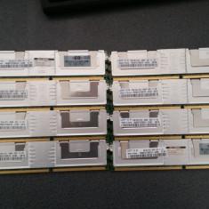 KIT 16GB RAM DDR2 ECC PC2-5300F FULL BUFFERED ( 8x2GB), GARANTIE 6 LUNI - Memorie RAM Samsung, 667 mhz, Quad channel