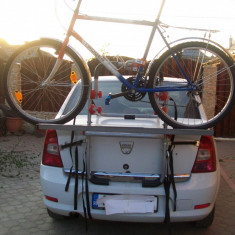 Suport Auto Biciclete - VAND SUPORT AUTO PENTRU 2 BICICLETE -250 LEI