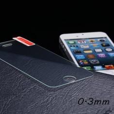 Folie sticla iPhone 5, 0.3mm clara - Folie de protectie Apple, Anti zgariere