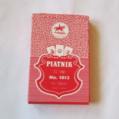 Carti poker Piatnik - CARTI DE JOC-unguresti clasice 32 buc-PIATNIC