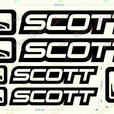 Set Scott_Sticker Bicicleta_Tuning _ Cod: SET-015