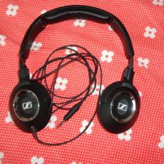 Casti Sennheiser HD 219, Casti Over Ear, Cu fir, Jack 3, 5mm, Active Noise Cancelling
