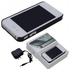 Electrosoc cu lanterna tip telefon iPhone4