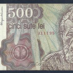 ROMANIA 500 LEI 1991 Aprilie [10] VF
