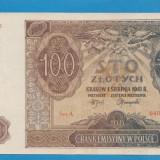 Polonia 100 zloti 1941 aUNC - bancnota europa