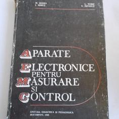 Carti Electronica - APARATE ELECTRONICE PENTRU MASURARE SI CONTROL - Mircea Bodea, Ioan Mihut