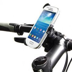 Suport telefon bicicleta - Suport bicicleta Samsung Galaxy S4 mini + folie protectie ecran cadou