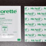 4 X Plasture Niccorette 15 mg. Nicotina. PASUL 2.