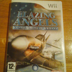 Jocuri WII Ubisoft, Simulatoare, 12+, Multiplayer - JOC WII BLAZING ANGELS SQUADRONS OF WWII ORIGINAL PAL / by DARK WADDER