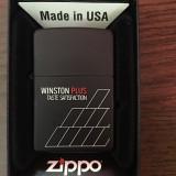 Bricheta Zippo Alta Winston originala, noua cu garantie pe viata, Moderna (1970 -acum)