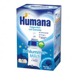 Lapte praf bebelusi Humana, De la 6 luni - Lapte praf de noapte Humana / Schlummermilch