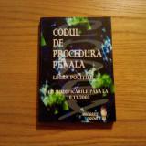 CODUL DE PROCEDURA PENALA * Legea Politiei - Stefan Crisu