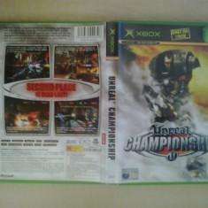 Unreal Championship - Joc XBox classic ( Compatibil XBox 360 ) ( GameLand ) - Jocuri Xbox, Shooting, 16+, Multiplayer