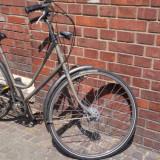 Bicicleta de oras, de dama, marca Batavus. Model clasic, Olandeza, 20 inch, 28 inch, Numar viteze: 3, Otel, Gri mat
