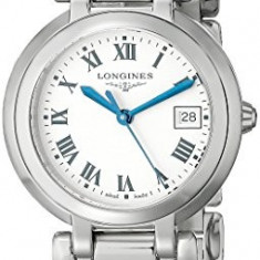 Ceas dama - Longines Women's LNG81124716 PrimaLuna Silver Dial | 100% original, import SUA, 10 zile lucratoare af22508