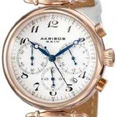Akribos XXIV Women's AK630RGW Rose-Tone Stainless | 100% original, import SUA, 10 zile lucratoare af22508 - Ceas dama