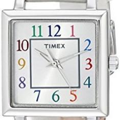Timex Women's T2P377 Elevated Classics Silver-Tone | 100% original, import SUA, 10 zile lucratoare af22508 - Ceas dama