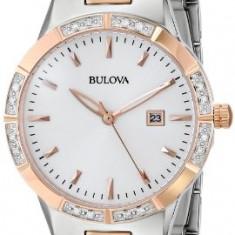 Bulova Women's 98R169 Two-Tone Watch with   100% original, import SUA, 10 zile lucratoare af22508 - Ceas dama