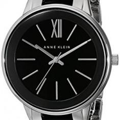 Anne Klein Women's AK 1413BKSV Silver-Tone | 100% original, import SUA, 10 zile lucratoare af22508 - Ceas dama