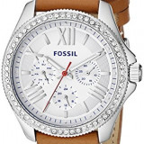 Fossil Women's AM4623 Cecile Crystal-Accented Stainless | 100% original, import SUA, 10 zile lucratoare af22508