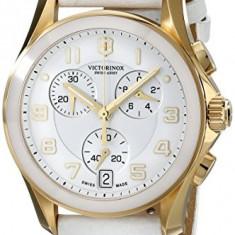 Victorinox Women's 241511 Gold-Tone Accented White   100% original, import SUA, 10 zile lucratoare af22508 - Ceas dama