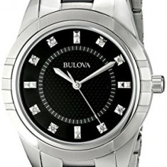 Bulova Women's 98P136 Diamond Dial Watch   100% original, import SUA, 10 zile lucratoare af22508 - Ceas dama