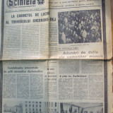Ziar - Scanteia 21 martie 1965 moartea Gheorghiu - Dej