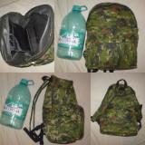 RUCSAC geanta CAMUFLAJ - PADURE - vanatoare pescuit army armata ghiozdan
