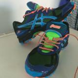 Adidasi Asics Fuji Attack - Adidasi barbati, Marime: 41.5, Culoare: Albastru
